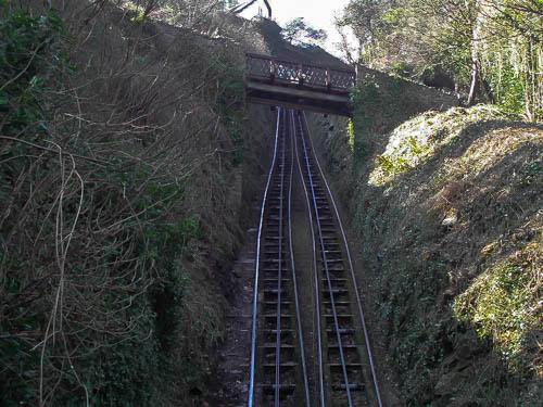 Lynton to Lymouth Cliff Railway