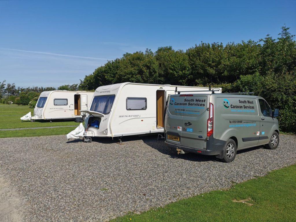 south west caravan services